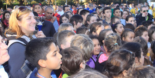 Plus de 350 jeunes au Cross du 2e REP de Calvi