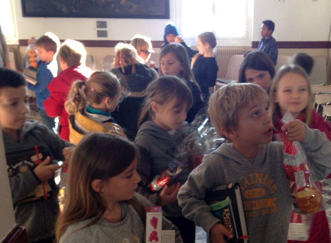 L'arbre de Noël des écoles de Calvi