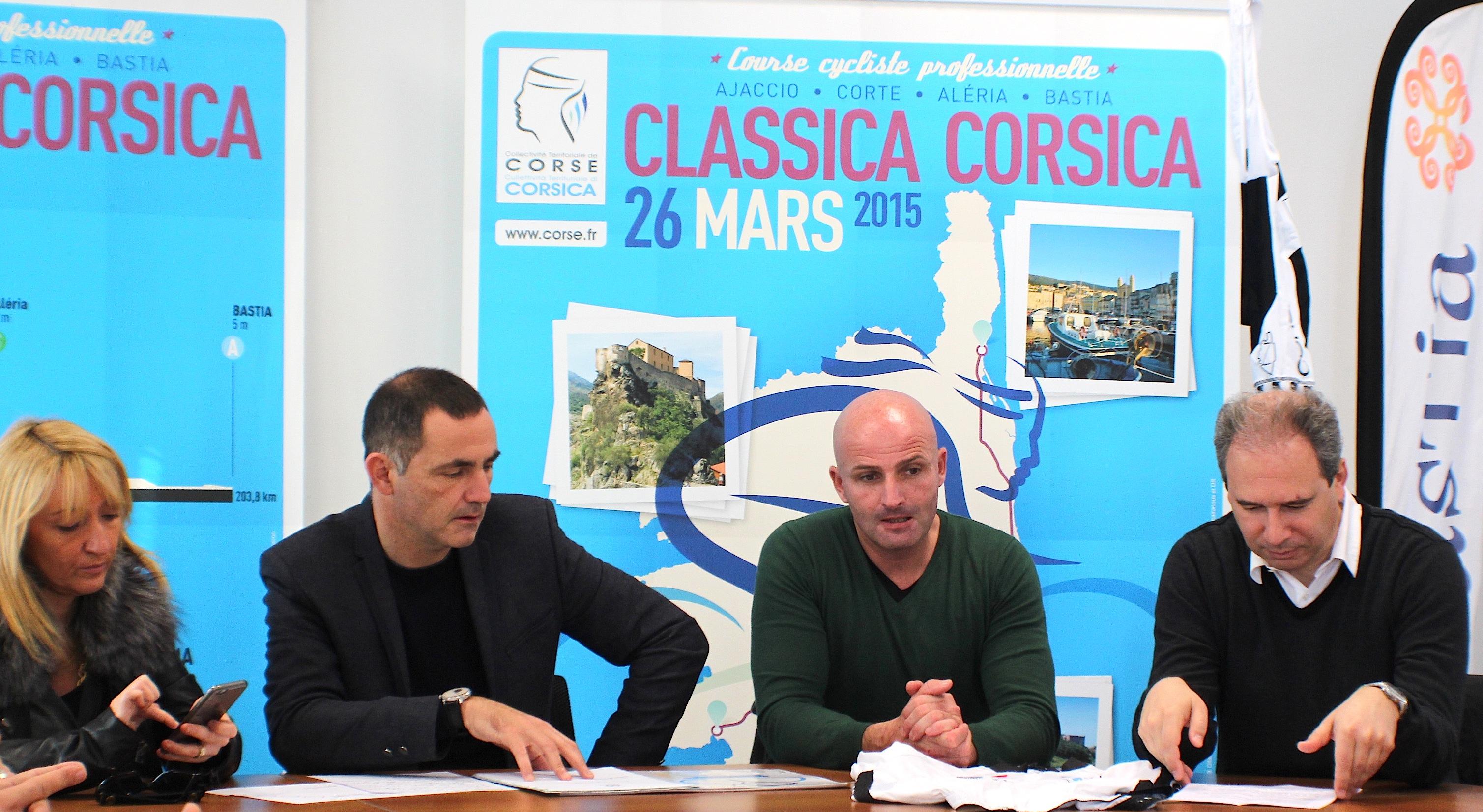 """La """"Classica Corsica"""" donnera le coup d'envoi de la saison cycliste européenne !"""