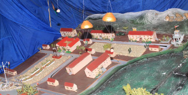 Les crèches dans la tradition de Noël et de la Légion au 2e REP de Calvi