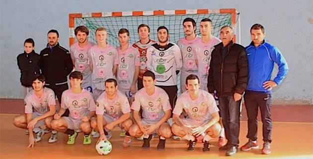 La sélection corse de Futsal en préparation à Calvi