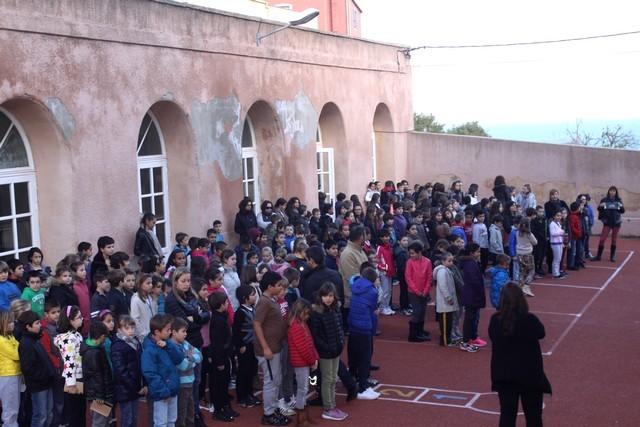 A l'école Loviconi de Calvi