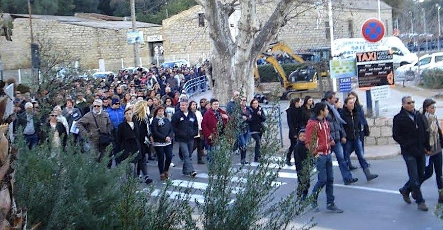 3 000 personnes à Porto-Vecchio