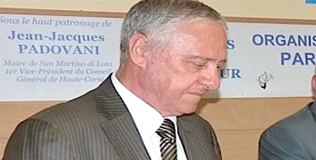 """Jacky Padovani : """"Je serai un candidat libre de contraintes à la présidence du conseil général"""""""