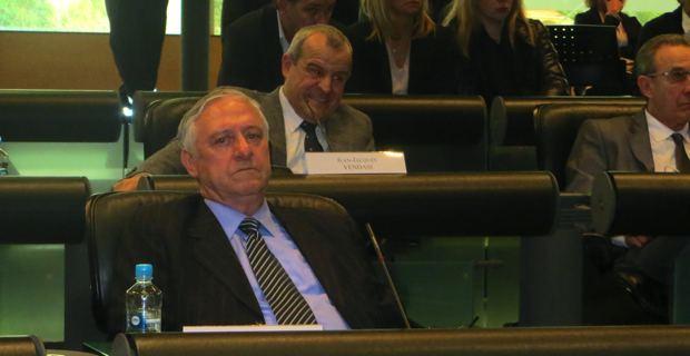 Jacky Padovani, maire et conseiller général de San Martino di Lota, candidat aux élections cantonales dans le grand canton du Cap Corse.