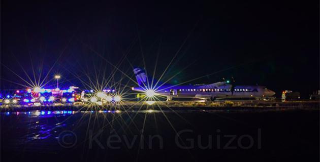 Atterrissage difficile et moteur en feu : Exercice grandeur nature à l'aéroport de Calvi