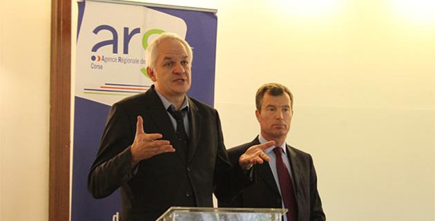 Jean Jacques Coiplet et Christophe Mirmand