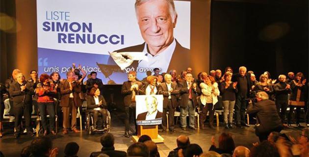 Meeting de Simon Renucci : « Unitì » pour faire face à l'adversaire commun