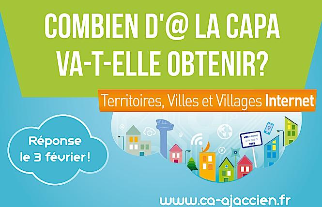 """Démarche numérique : La Capa concourt pour le label """"Territoires, Villes et Villages Internet """""""