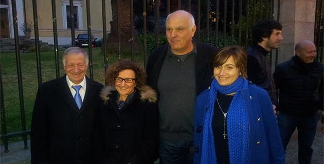 Paul Leonetti et Josepha Giacometti (Aiacciu Cita Corsà) avec Simon Renucci et Maria Guidicelli font leur entrée au conseil municipal