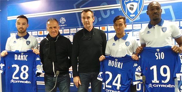 Danic, Sio et Houri  sont au Sporting !