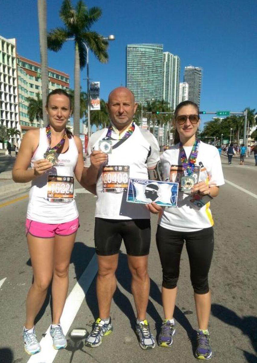 Trois calvais à l'honneur au semi-marathon de Miami