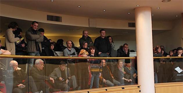 Les agents de l'Assemblée de Corse manifestent : Non au déplacement vers Sarrola