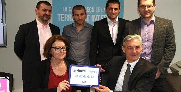 """La CAPA obtient la plus haute récompense au """"Label Territoires Villes et Village Internet"""""""