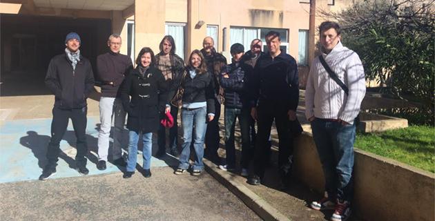 """Lycée de Balagne : La formation des futurs """"ouvriers professionnels en pierre sèche"""""""