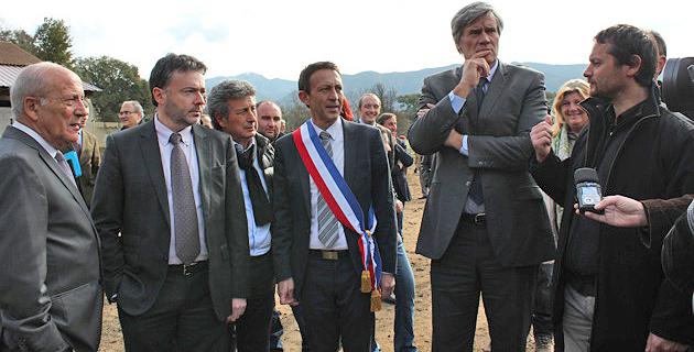 Stéphane Le Foll achève sa visite en Corse-du-Sud