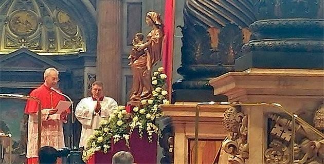 Rome : Monseigneur Mamberti Cardinal !
