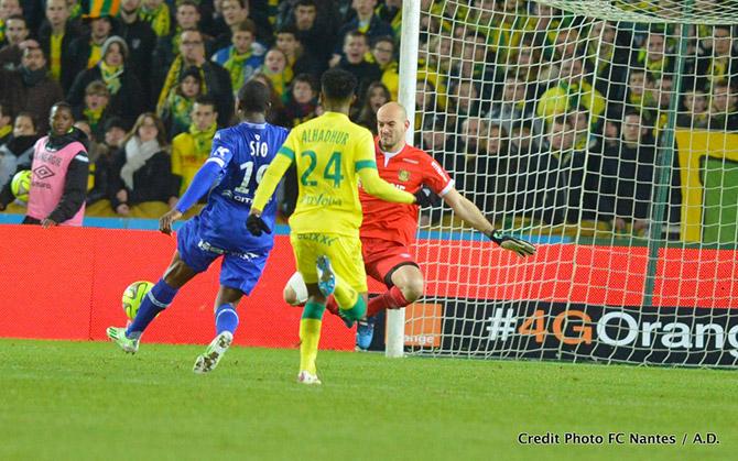 Le Sporting continue : Et 1 et 2 à 0 à Nantes !