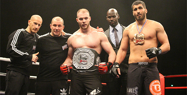 Florian Navarro (KTP Scola) vainqueur du Fight select de Paris