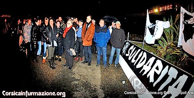 Militants nationalistes interpellés en Corse-du-Sud : Rassemblement à Asprettu