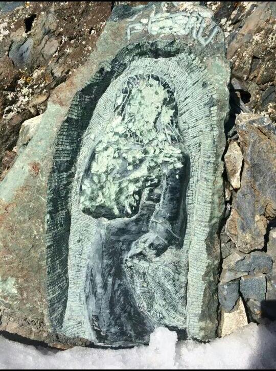 San Petrone : La statuette de San Petru dégradée...