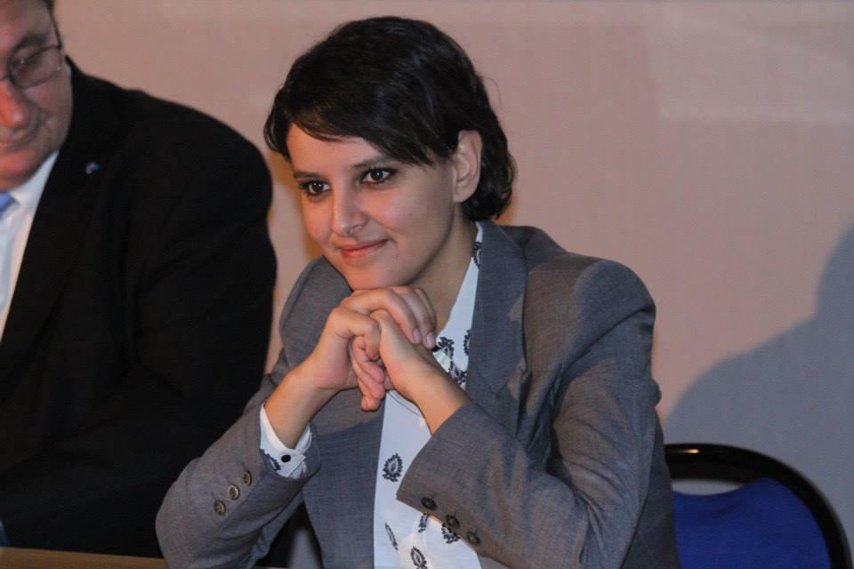 Najat Vallaud-Belkacem a débattu avec les élèves du lycée Laetitia Bonaparte