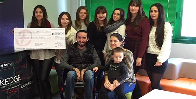 Bastia : La bonne action des élèves de l'école de management