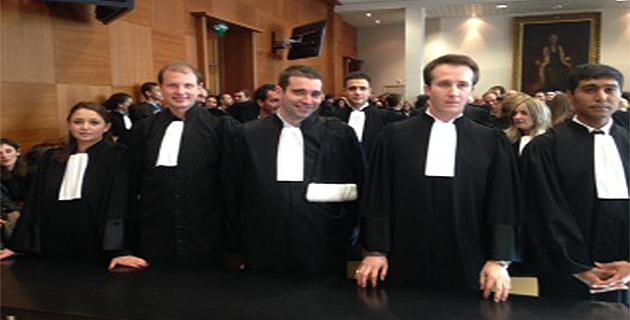Cour d'appel de Bastia : Prestation de serment pour neuf jeunes avocats