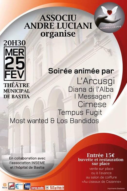 Bastia : L'Associu André-Luciani organise un concert au profit d'Inseme
