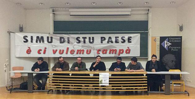 """Corte : Le collectif """"Simu di stu paese"""" prépare les futures mobilisations"""