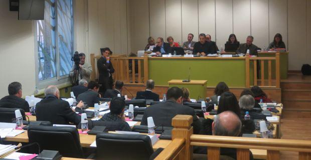 Le conseil communautaire de l'agglomération de Bastia.