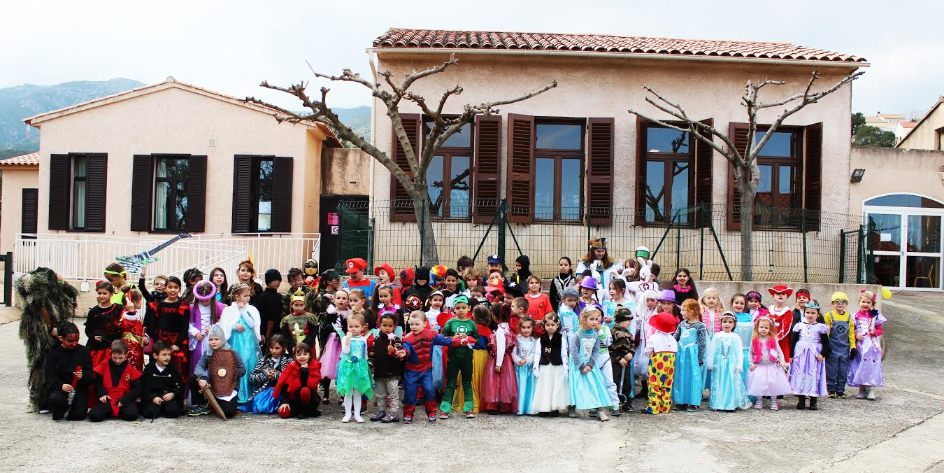Biguglia : Carnaval réussi à l'école de Campo Vallone