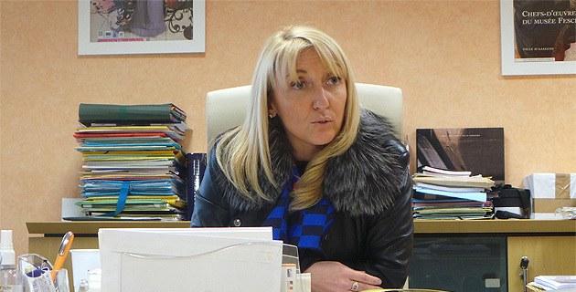 Emmanuelle de Gentili, conseillère exécutive de l'Assemblée de Corse, 1ère adjointe au maire de Bastia, responsable de la fédération socialiste de Haute-Corse et membre du bureau national du PS.