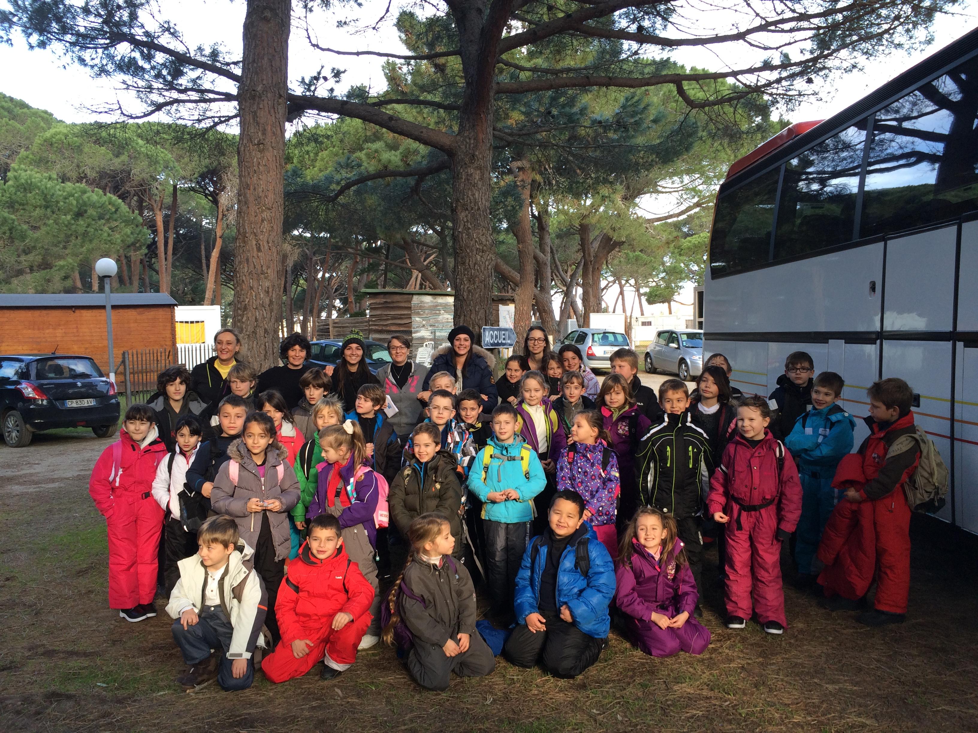 Séjour à Asco pour un groupe d'enfants de l'ALSH de Calvi