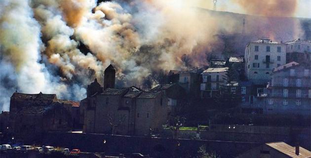 Lucciana : Une dizaine d'hectares détruits par les flammes