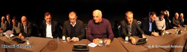 """""""Coordination pour une voie politique"""" : Un premier meeting devant 500 personnes à Ajaccio"""