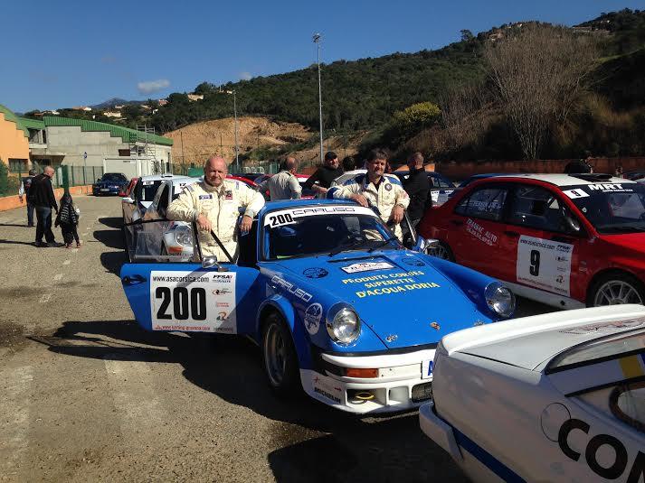 La Porsche de Peretti-Dran à la 3eme place