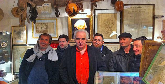Une délégation de l'association Cuscenza Paolista  invitée au Petit Musée de Corbara .