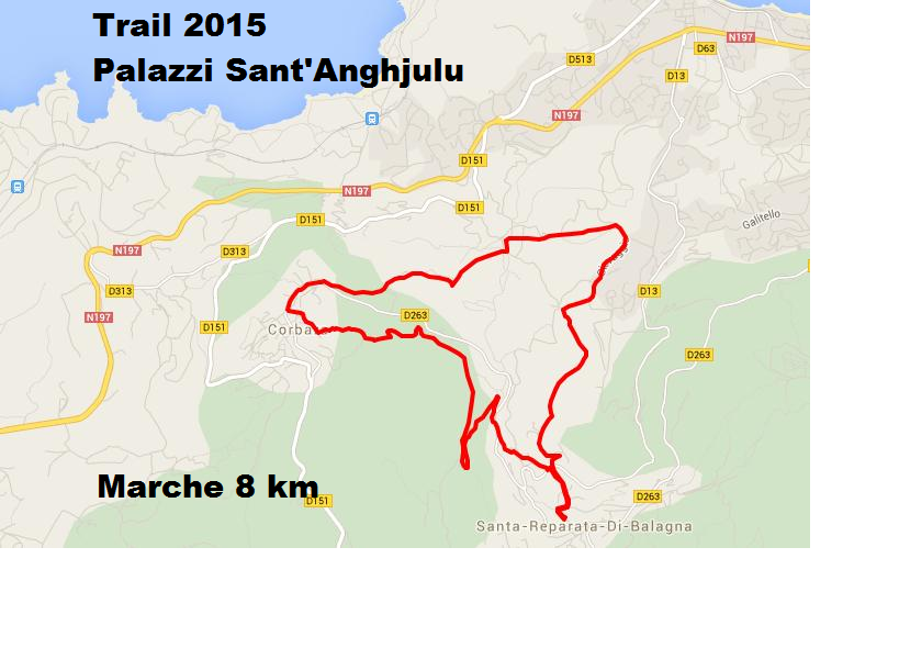 Santa-Reparata di Balagna : Dimanche, le 4e trail de Palazzi-Sant'Anghjulu