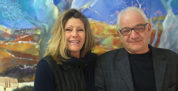Ange Rovere et Danielle Belgodère, candidats PCF-PRG pour les élections départementales des 22 et 29 mars.