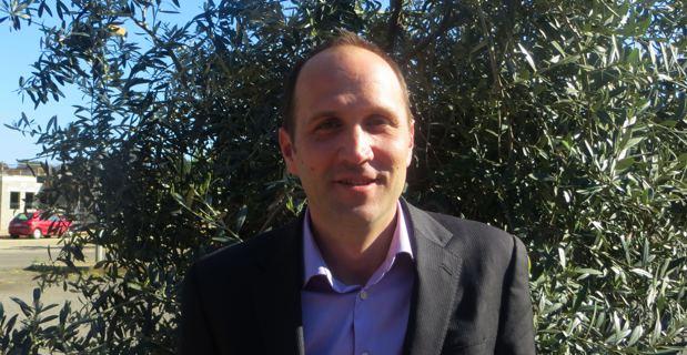 Yannick Castelli, maire de Penta-di-Casinca.