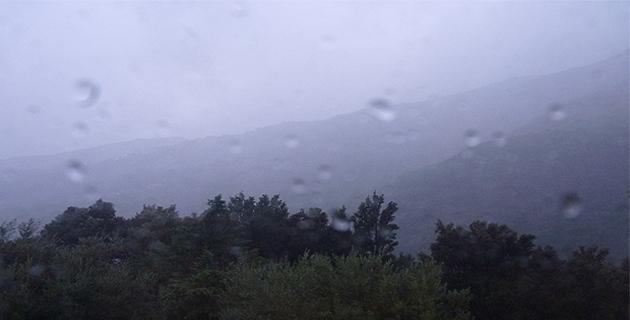 """Météo : La façade orientale de la Corse en vigilance jaune """"pluie"""""""