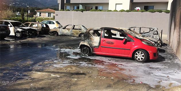 Une soixantaine de voitures brûlées depuis le début de l'année