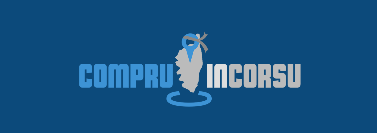 "Le logo de la nouvelle application ""compru in corsu"""