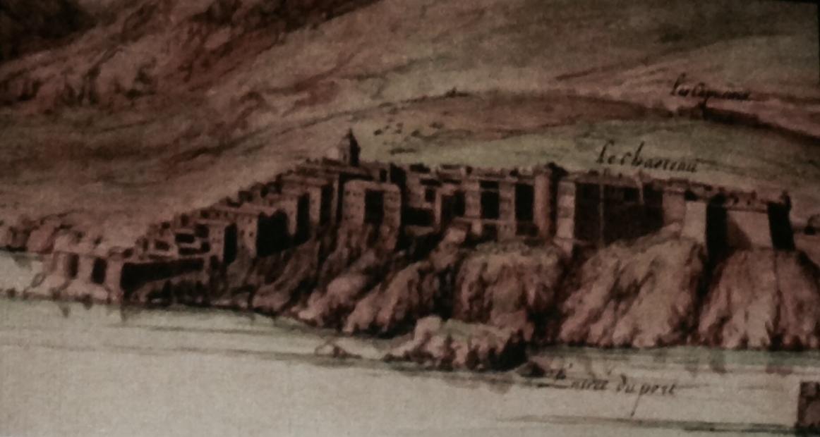 Croquis de la citadelle, en 1679