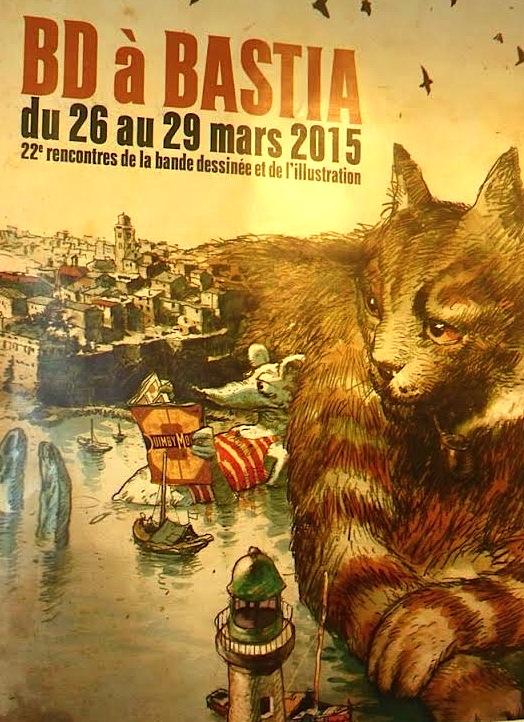 Bastia : Les 22èmes rencontres de la BD et de l'illustration se mettent en place