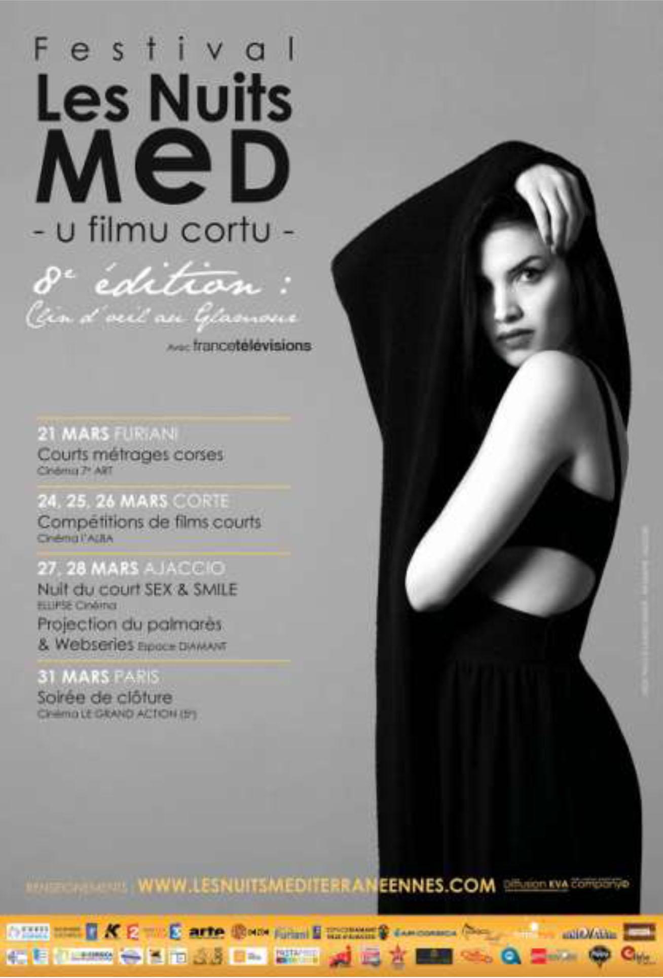 Ajaccio : Le  8ème festival des nuits MED, un clin d'œil au glamour