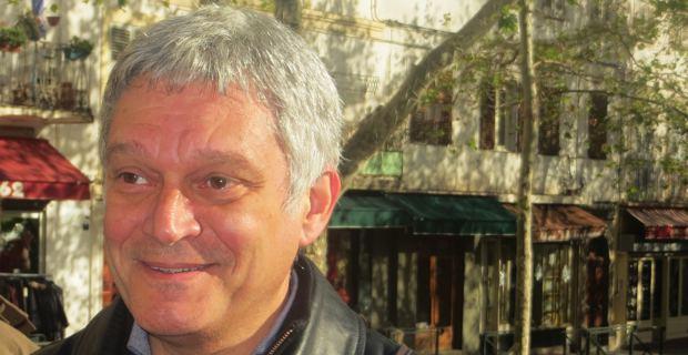 Eric Simoni, candidat de Corsica Libera sur le canton de Bastia II pour les élections départementales des 22 et 29 mars.