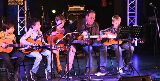 """Les enfants de l'école de musique de Calvi  """"U Timpanu"""" à l'honneur"""
