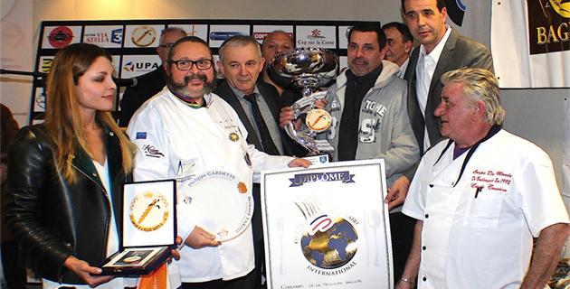 """Yvan Peron de la Boulangerie """"les Portes de la Balagne"""" à Pietralba a enlevé la palme 2014"""